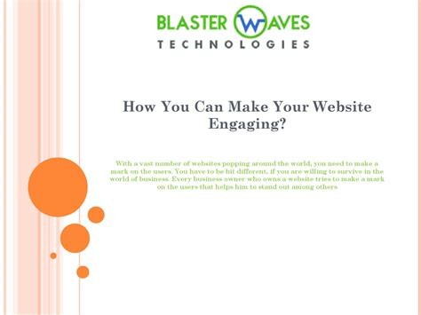 websites where you can draw how you can make your website engaging by blaster waves