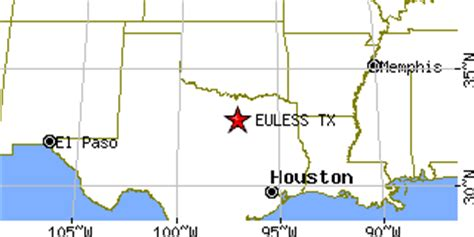 zip code map euless tx euless texas tx population data races housing economy