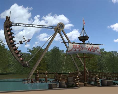 Holiday World Announces Mayflower Swinging Ship Ride For