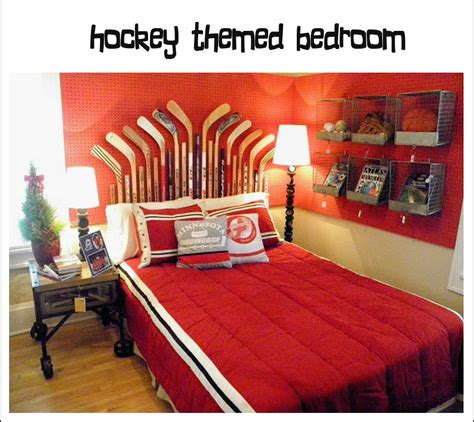 hockey bedroom decor it s written on the wall more tips and tricks