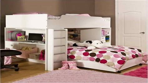 bunk beds with couch underneath organizing tips for bedrooms teen loft bed with desk bunk