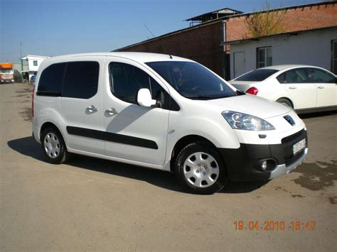 peugeot partner 2008 used 2008 peugeot partner tepee photos 1600cc gasoline