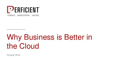 why is better why business is better in the cloud
