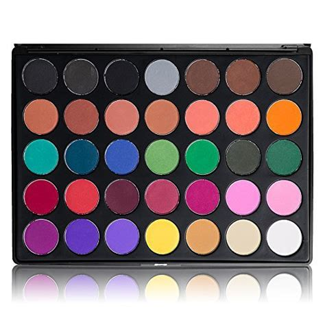 Morphe 35 N Palette morphe pro 35 color eyeshadow makeup palette glam high pigmented 35b arts entertainment