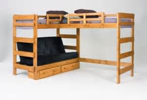 heartland l shaped futon loft bed home sweet home