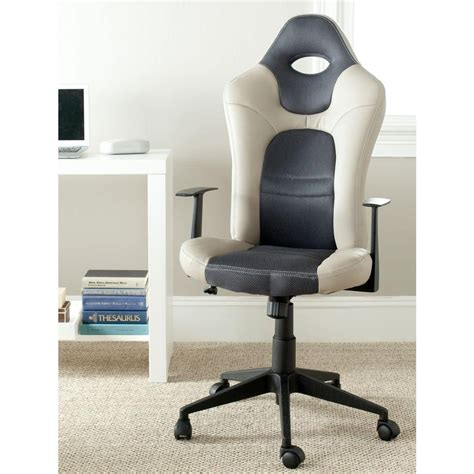 Safavieh Belinda Grey Office Chair Fox8503a The Home Depot