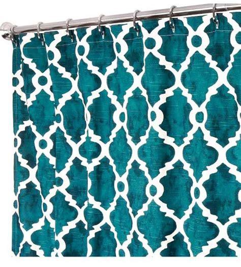 teal shower curtain fabric best 25 teal curtains ideas on pinterest curtain styles