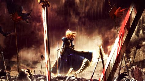 anime fate fate stay night full hd wallpaper and background image