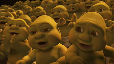 the gallery for gt shrek babies