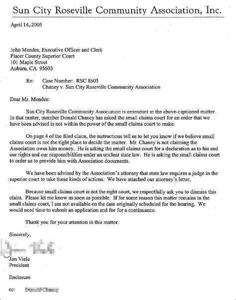 Response Letter To Hoa Homeowners Association Insider