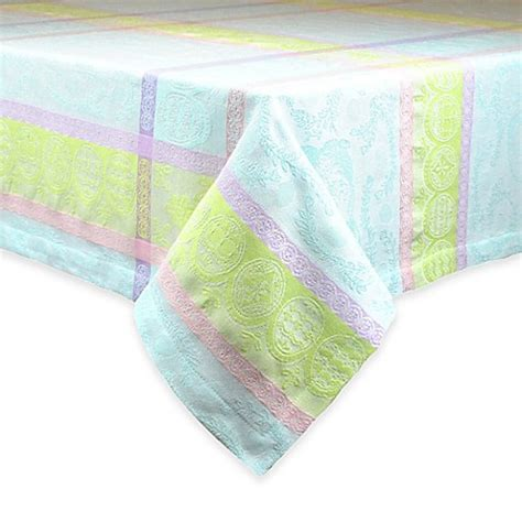 bed bath and beyond easter sweet easter jacquard tablecloth bed bath beyond