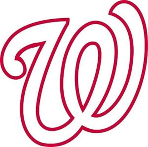 washington nationals logo window wall decal vinyl car