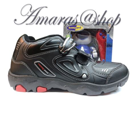 Homyped Sepatu Anak D 005 Black jual beli homyped jericko berhadiah robot pintar serie