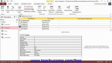 disable layout view for forms and reports in this database access 2013 tutorial deleting fields microsoft training