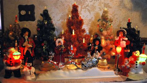 vintage christmas decor shows history of holiday decorating
