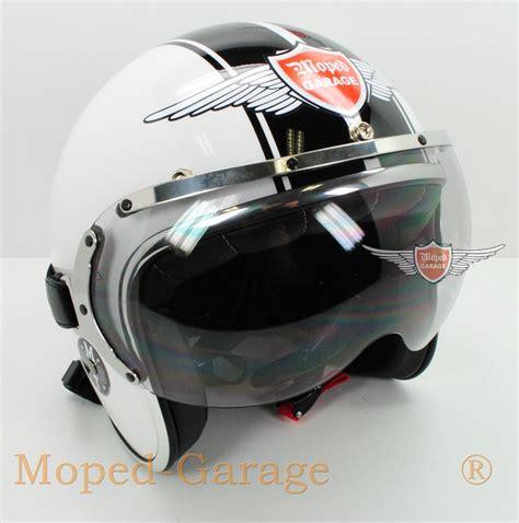 Motorrad Chopper Leicht moped garage net moped roller chopper jet helm visier