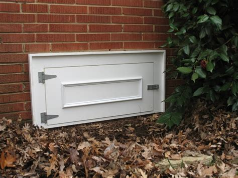 Exterior Crawl Space Door Our Services Offered By Add It Inc Crawl Space Doors