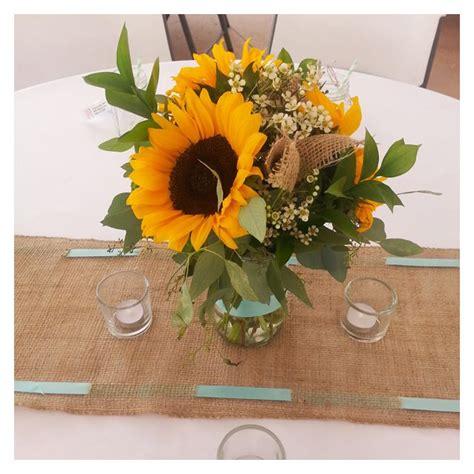 Sunflower Centerpieces For Weddings Sunflower Centerpieces For Wedding Reception Wedding