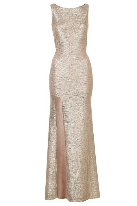 Gold Maxi by Tfnc Fatima Gold Maxi Dress Tfnc Maxi Dresses