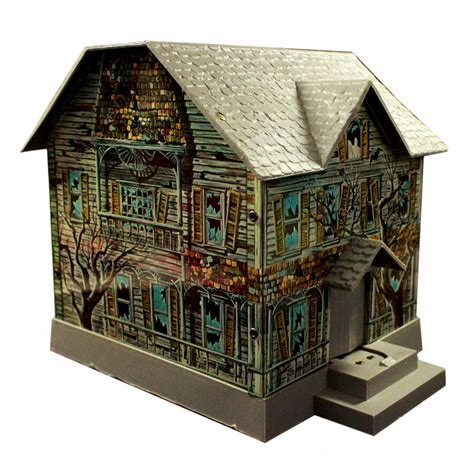 haunted house toy haunted house tin litho toy