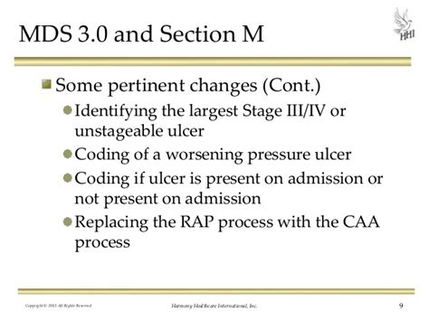 mds 3 0 section m m is for miscoding