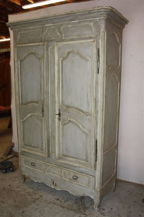 Oversized Armoire by Large Painted Armoire At 1stdibs