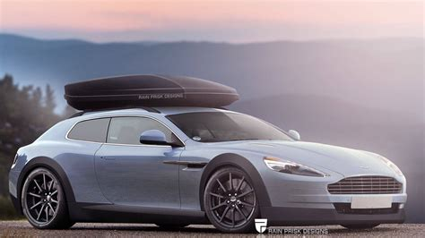 crazy station wagon renders based  sports cars gtspirit