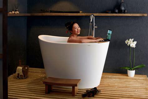 japanese ofuro bathtubs aquatica true ofuro tranquility heated japanese bathtub
