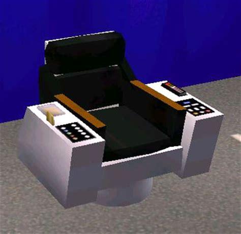 Trek Captains Chair by Mod The Sims Trek Tos Captains Chair Update
