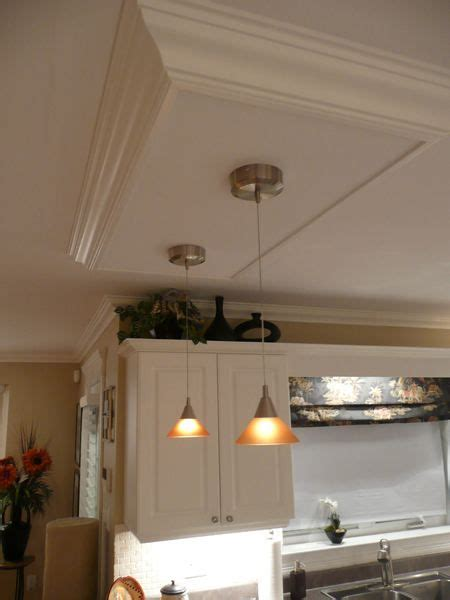 kitchen island ceiling light box lighting