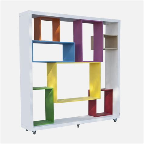 modular bookshelf colorful bookshelf unit in modular shelving system