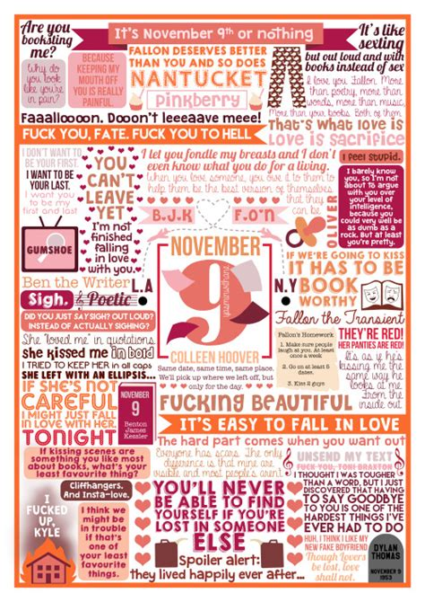 November 9 By Colleen Hoover colleen hoover images november 9 collage wallpaper and background photos 39536832