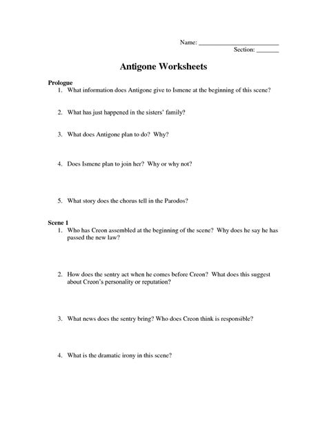 antigone worksheet antigone worksheets answers here http www mpsaz org rmhs staff dmsokol class4 antigone