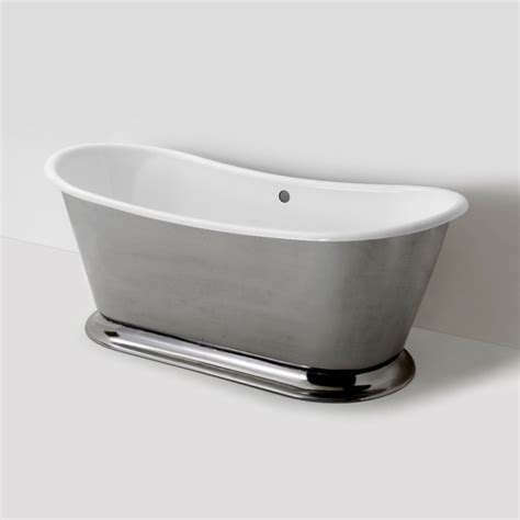 Waterworks Bathtub by Margaux Freestanding Oval Cast Iron Bathtub Traditional