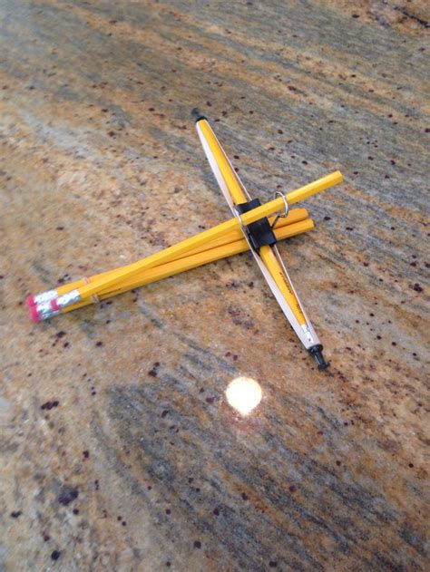 Handmade Crossbow - 17 best ideas about pencil crossbow on a