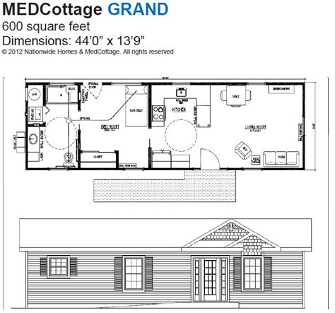 Granny Pod Floor Plans Granny Pods Med Cottages Floor Plans Meze Blog