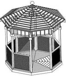 Octagon Gazebo Plans by Octagon Gazebo Plans Images