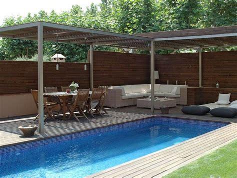 decorar el jardín y terraza exteriorismo pool pinterest patio y jardin terrazas