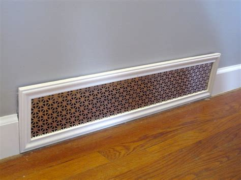 floor vent covers 10cm x 30cm cream metal louvered floor vents unfinished solid oak wood floor
