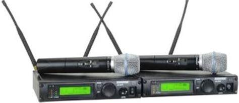 Wireless Microphone Shure Bisa Ubah Frequensi shure ulxp24d beta87a ulx professional series dual
