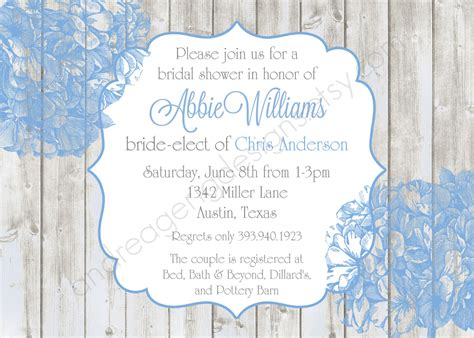 bridal shower invitations microsoft word bridal shower