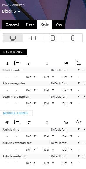 newspaper theme blocks newspaper theme responsive typography for blocks and