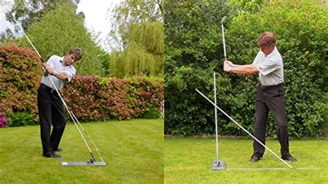 golf swing plane aids swingcheck golf swing training aids