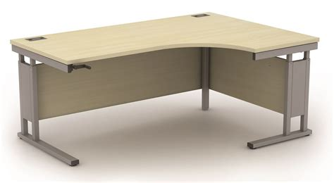 Height Adjustable Corner Desk Avalon Height Adjustable Right Corner Desk 1400mm Reality