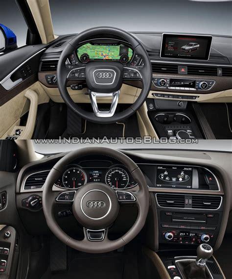 2013 Audi A4 Interior by 2016 Audi A4 B9 Vs 2013 Audi A4 B8 Interior Vs New