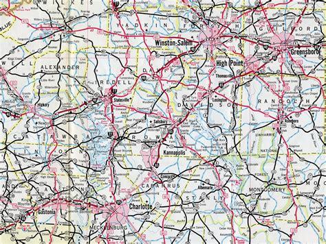 map of i 85 in carolina interstate guide interstate 85
