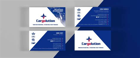Tam Cargo Business Card Template by Business Cards Printing Laval Images Card Design And