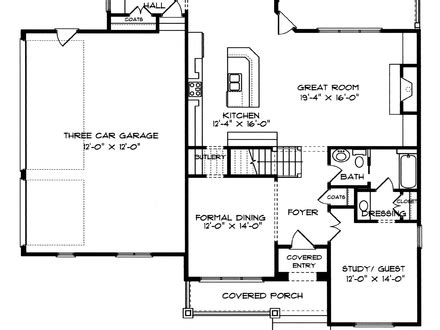 craftsman cottage floor plans bungalow house floor plans bungalow cottage house plans