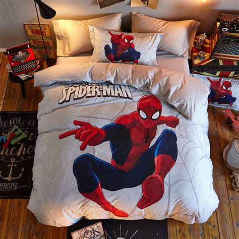 marvel queen size bedding marvel spider man boys bedding twin queen size comforter set