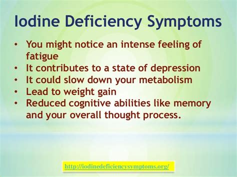 If You Do Not Detox From Iodine by Iodine Deficiency Symptoms